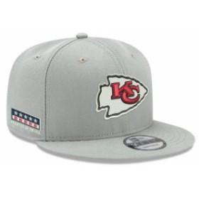 New Era ニュー エラ スポーツ用品  New Era Kansas City Chiefs Gray Crafted in the USA 9FIFTY Adjustable Hat