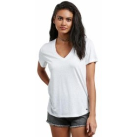volcom ボルコム ファッション 女性用ウェア Tシャツ volcom mix-a-lot-vneck