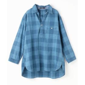 【40%OFF】 グランドパーク チェック柄ワイドシルエットシャツ メンズ 92その他3 48(L) 【Grand PARK】 【セール開催中】