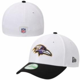 New Era ニュー エラ スポーツ用品  Baltimore Ravens Youth White Training Camp 39THIRTY Flex Hat