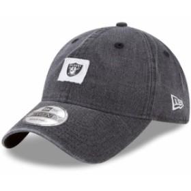 New Era ニュー エラ スポーツ用品  New Era Oakland Raiders Black Stamped 9TWENTY Adjustable Hat