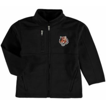 Outerstuff アウタースタッフ スポーツ用品 Cincinnati Bengals Preschool Black Helix Bonded Full-Zip Jacket