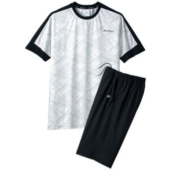 【メンズ】 リラクシングウエア(ファイテン)(半袖)(男女兼用) - セシール ■カラー:ホワイト ■サイズ:L,S