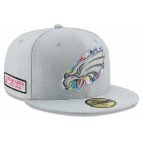 New Era ニュー エラ 服  New Era Philadelphia Eagles Gray Crucial Catch 59FIFTY Fitted Hat