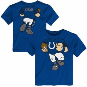 Outerstuff アウタースタッフ スポーツ用品 Indianapolis Colts Royal Team Logo Football Dreams T-Shirt