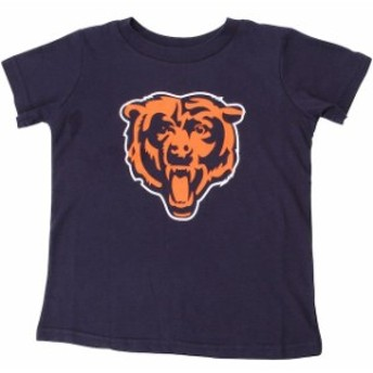 Outerstuff アウタースタッフ スポーツ用品 Chicago Bears Toddler Navy Blue Team Logo T-Shirt