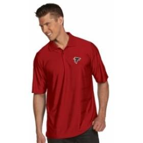 Antigua アンティグア スポーツ用品  Antigua Atlanta Falcons Red Illusion Xtra-Lite Polo