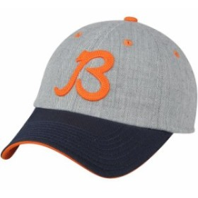 online store 8064c 99c8f Outerstuff アウタースタッフ スポーツ用品 Chicago Bears Youth Heathered Gray Navy  Chainstitch Letter Adjustable Ha
