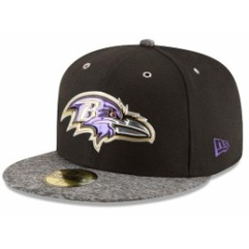 New Era ニュー エラ スポーツ用品  New Era Baltimore Ravens Black On Stage 59FIFTY Fitted Hat