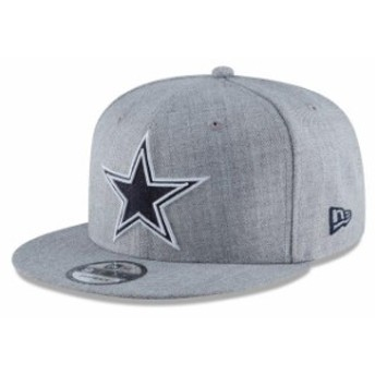 New Era ニュー エラ スポーツ用品 New Era Dallas Cowboys Heathered Gray Hype 9FIFTY Snapback Hat