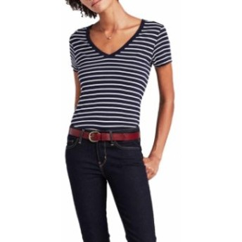 levis リーバイス ファッション 女性用ウェア Tシャツ levi s-(R) essential-v-neck