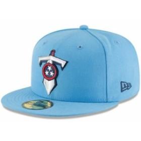 New Era ニュー エラ 服  New Era Tennessee Titans Light Blue Omaha 59FIFTY Hat