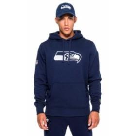 new-era ニュー エラ ファッション 男性用ウェア パーカー new-era seattle-seahawks-pullover-team-logo-hoodie