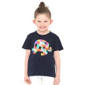 【グラニフ:トップス】キッズTシャツ/ぞうのエルマーアンドウイルバー(ぞうのエルマー)