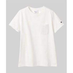 (Ranan/ラナン)<Champion>ポケットTシャツ/レディース オフホワイト