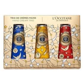 数量限定L'OCCITANE(ロクシタン) ジョイフルスター シア ハンドトリオ