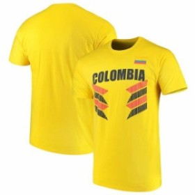 Outerstuff アウタースタッフ スポーツ用品  Colombia National Team Yellow One Team T-Shirt
