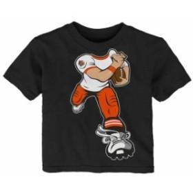 Outerstuff アウタースタッフ スポーツ用品  Cincinnati Bengals Toddler Black Yard Rush T-Shirt