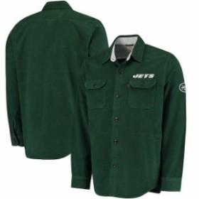 Levis リーバイス アウターウェア ジャケット/アウター Levis New York Jets Green Moleskin Long Sleeve Overshir