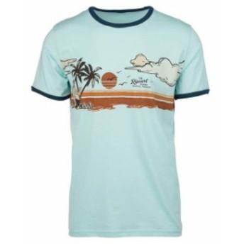 rip-curl リップ カール ファッション 男性用ウェア Tシャツ rip-curl hawaiian-sunset