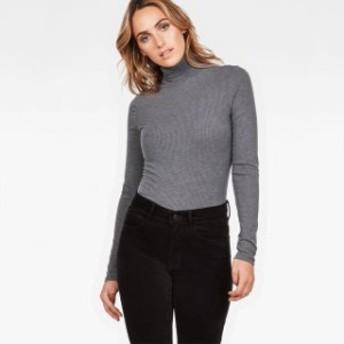 gstar ジースター ファッション 女性用ウェア Tシャツ gstar silber-slim-turtle-t