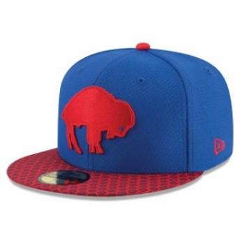 New Era ニュー エラ スポーツ用品 New Era Buffalo Bills Royal 2017 Sideline Historic 59FIFTY Fitted Hat
