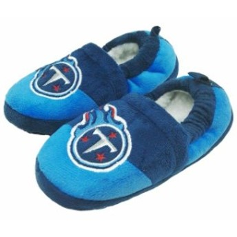 Forever Collectibles フォーエバー コレクティブル シューズ スリッパ Tennessee Titans Toddler Colorblock Slid