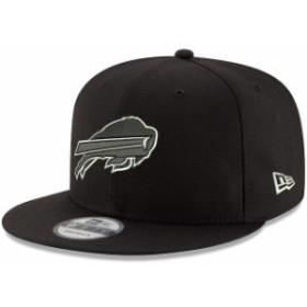 New Era ニュー エラ スポーツ用品  New Era Buffalo Bills Black B-Dub 9FIFTY Adjustable Hat