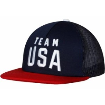 Outerstuff アウタースタッフ スポーツ用品 Team USA Navy/Red Foam Front Trucker Adjustable Hat