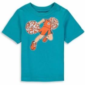 Outerstuff アウタースタッフ スポーツ用品  Miami Dolphins Girls Toddler Aqua Pom Pom Cheer T-Shirt