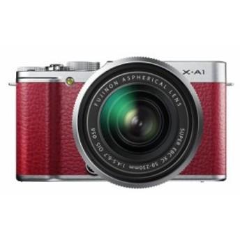 FUJIFILM デジタルカメラミラーレス一眼 X-A1ズームレンズキット レッド F (中古品)