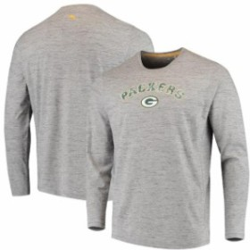Tommy Bahama トミー バハマ スポーツ用品  Tommy Bahama Green Bay Packers Heathered Gray Fronds In The Box Long Sleeve