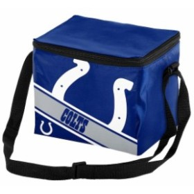 Forever Collectibles フォーエバー コレクティブル スポーツ用品  Indianapolis Colts Big Logo Stripe 6 Pack Cool