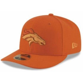 New Era ニュー エラ スポーツ用品  New Era Denver Broncos Orange Total Team Tonal Low Profile 59FIFITY Fitted Hat