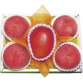 国産マンゴー&山梨産御坂の水蜜桃詰合せ OY-50 フルーツ