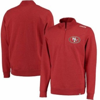 47 フォーティーセブン アウターウェア ジャケット/アウター 47 San Francisco 49ers Scarlet Forward Compete