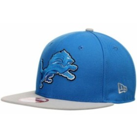New Era ニュー エラ スポーツ用品  New Era Detroit Lions Blue Bind Back 9FIFTY Adjustable Hat
