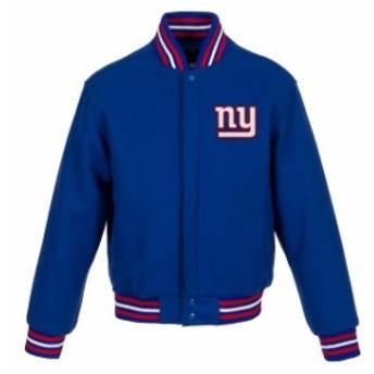 JH Design ジェイエイチ デザイン アウターウェア ジャケット/アウター JH Design New York Giants Womens Ro