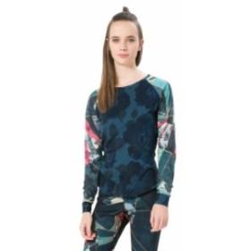 desigual デシグアル ランニング&トライアスロン 女性用ウェア Tシャツ desigual baseball-dark-denim