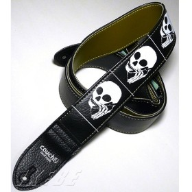Couch Guitar Strap Skullphone Guitar Strap Black