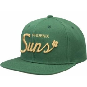 Mitchell & Ness ミッチェル アンド ネス スポーツ用品  Mitchell & Ness Phoenix Suns Green Four Leaf Clover Snapbac