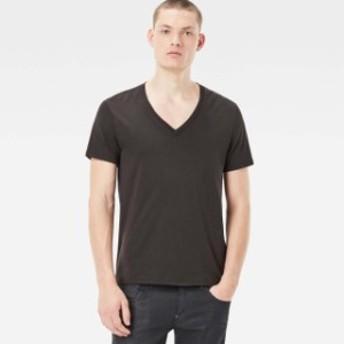 gstar ジースター ファッション 男性用ウェア Tシャツ gstar base-heather-v-neck-2-pack