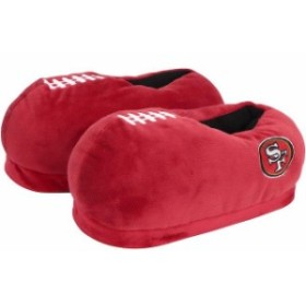 Forever Collectibles フォーエバー コレクティブル シューズ スリッパ San Francisco 49ers Youth Puffy Slippers