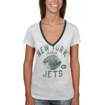 G-III 4Her by Carl Banks ジースリー フォーハー バイ カール バンクス スポーツ用品 New York Jets Womens