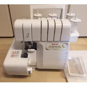 使いやすさ充実の2本針4本糸ロックミシン!糸取物語 BL65EXS ベビーロックミシン 大型トリムビン(新型くず受け)付