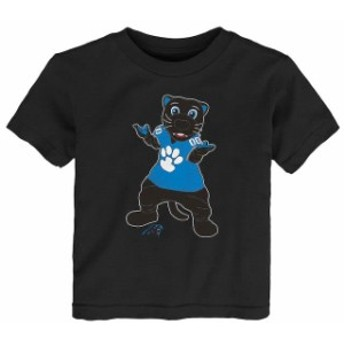 Outerstuff アウタースタッフ スポーツ用品 Carolina Panthers Toddler Black Standing Team Mascot T-Shirt