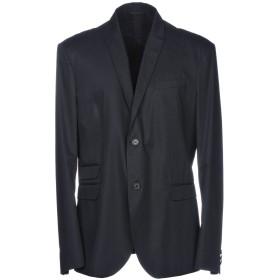 《期間限定セール開催中!》NEIL BARRETT メンズ テーラードジャケット ダークブルー 50 100% コットン