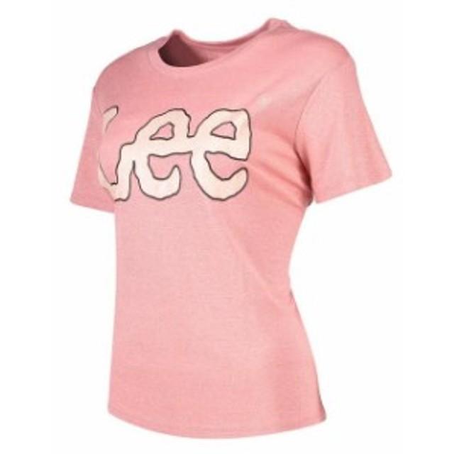 lee リー ファッション 女性用ウェア Tシャツ lee lurex-logo