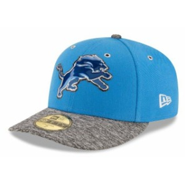 New Era ニュー エラ スポーツ用品  New Era Detroit Lions Blue On Stage Low Profile 59FIFTY Fitted Hat