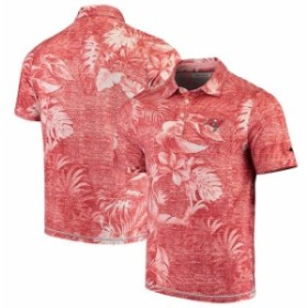 Tommy Bahama トミー バハマ シャツ ポロシャツ Tommy Bahama Tampa Bay Buccaneers Red Parque Polo